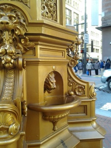 Detail of Lotta's Fountain