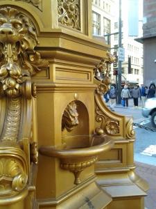 Detail of Lotta's Fountain