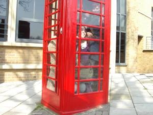 When in London. . .