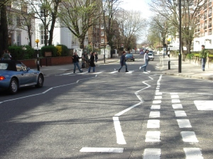 Our Abbey Road moment