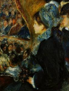 The Theater by Pierre Auguste Renoir