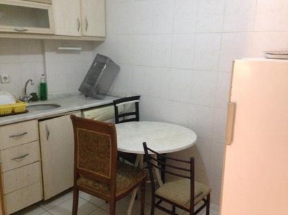 Sad, dim kitchen