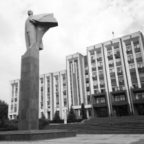 Statue of Lenin in Transnistria