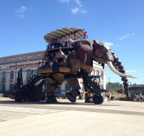 Le Grand Elephant in Nantes