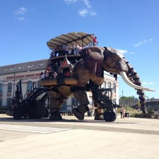 Le Grand Elephant in Nantes