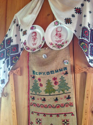 Local crafts in Oksana's cottage