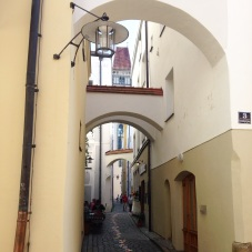 Tiny streets in Passau