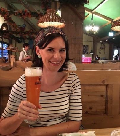 Me at Oktoberfest