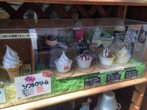 It wouldn't be Japan without plastic food in the window!