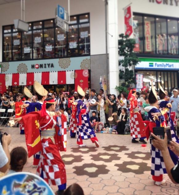 Yosakoi dancers in Kochi. Shot on iphone.