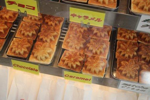 Delicious maple-shaped treats! Photo courtesy: Jenny Lee.