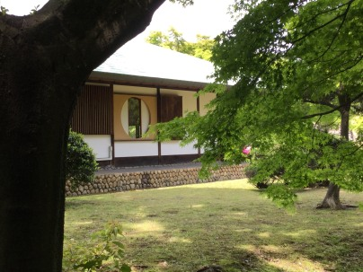 Lovely teahouse on the ground of Nagoya Castle